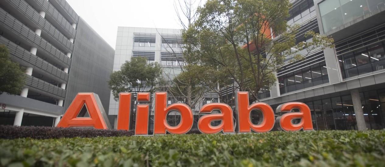 Sede do grupo Alibaba em Hangzhou, na China: IPO em Nova York pode se tornar o maior de Wall Street Foto: Nelson Ching / Bloomberg/24-2-2012