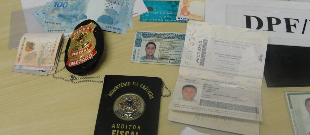 Auditor fiscal tentou tirar passaporte usando documentos falsos em Volta Redonda Foto: Divulgação / Polícia Federal