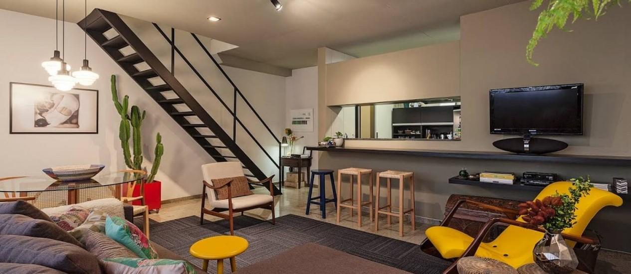 Cozinha americana, ambientes integrados e praticidade são alguns dos elementos funcionais Foto: Divulgação