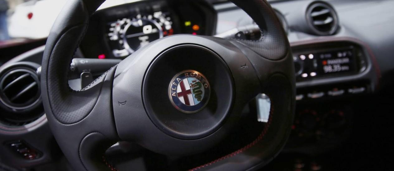 O tradicional Alfa Romeo voltará a ser fabricado nos EUA Foto: Jin Lee / Bloomberg/17-4-2014
