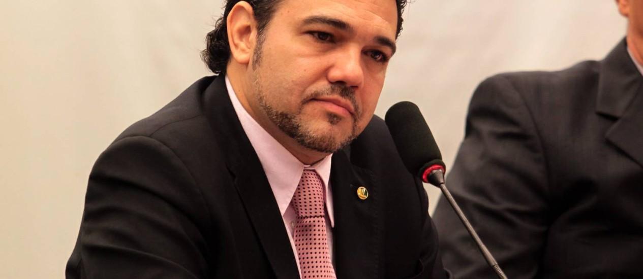 O deputado Pastor Marco Feliciano presidiu a Comissão de Direitos Humanos da Câmara Foto: Givaldo Barbosa / Agência O Globo 18/04/2013