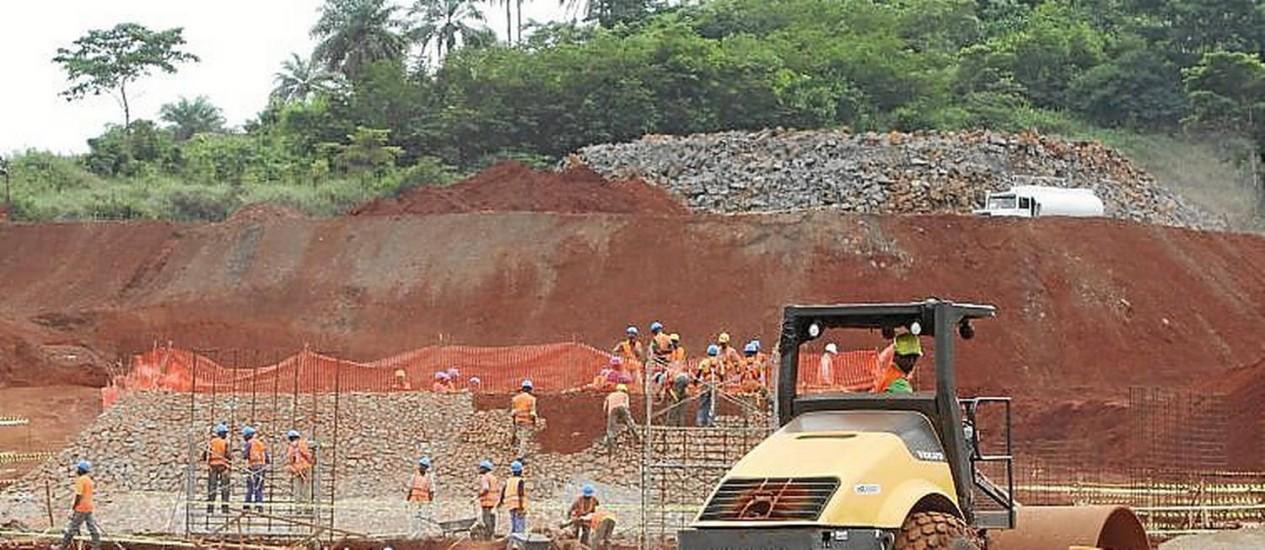 Disputa pela área de Simandou, na Guiné, é alvo de processos nos EUA Foto: Divulgação