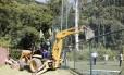 Reintegração de posse: Clube Caxinguelê foi desocupado em cumprimento a determinação da Justiça