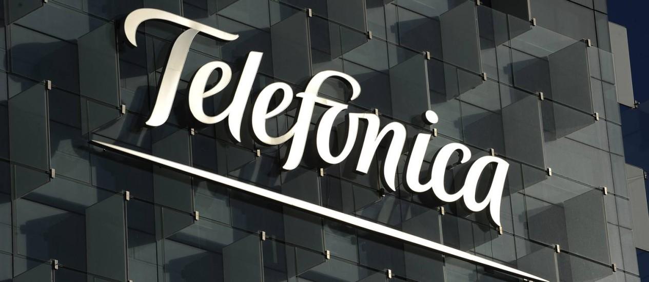 Telefônica: despesas com dívida aumentaram Foto: Denis Doyle / Bloomberg