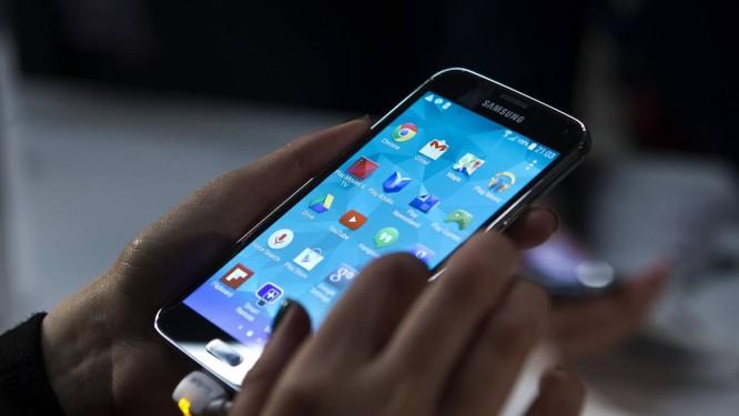 Smartphone Galaxy S5 Foto: Angel Navarette / Bloomberg