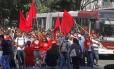 Movimentos sociais de luta por moradia fizeram manifestação em São Paulo