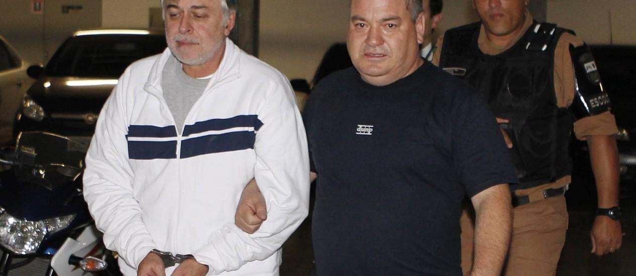 PF começou a suspeitar de desvios de descontos especiais ao analisar planilha apreendida em poder do ex-diretor da Petrobras Foto: Ivonaldo Alexandre/Gazeta do Povo 2-5-2014