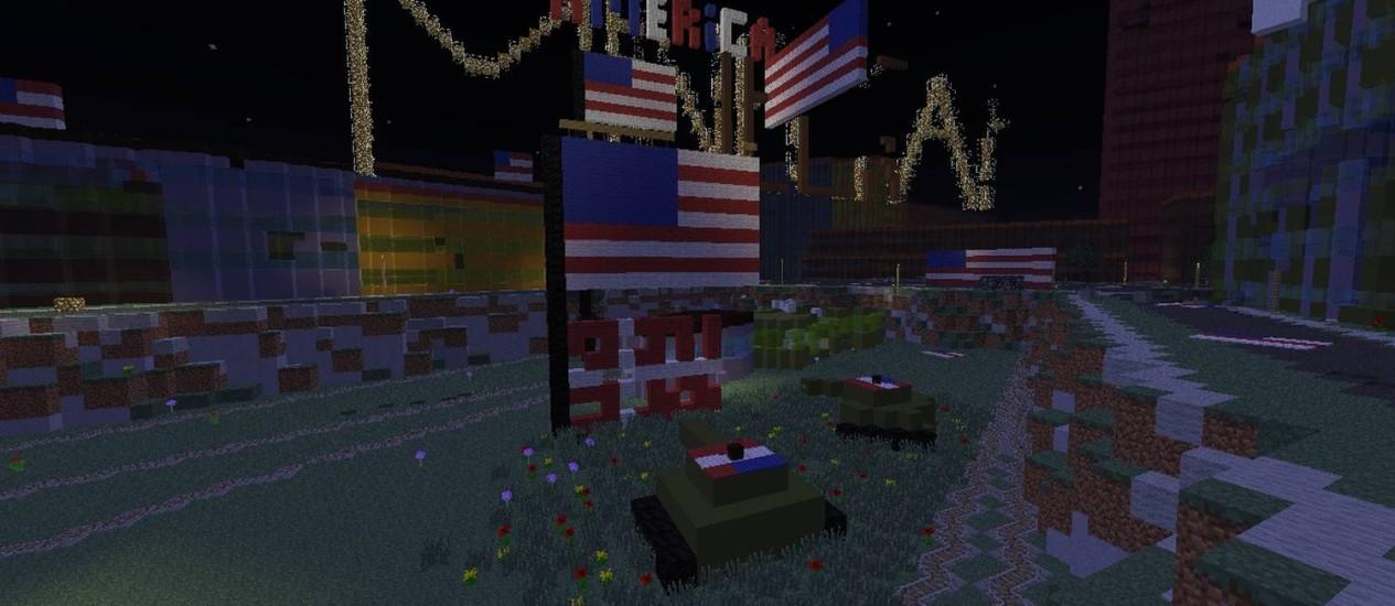 'Eu americanizei o lugar um pouquinho', escreveu um usuário no principal fórum de adeptos de game
