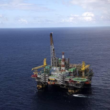 Plataforma da Petrobras Foto: Agência O Globo
