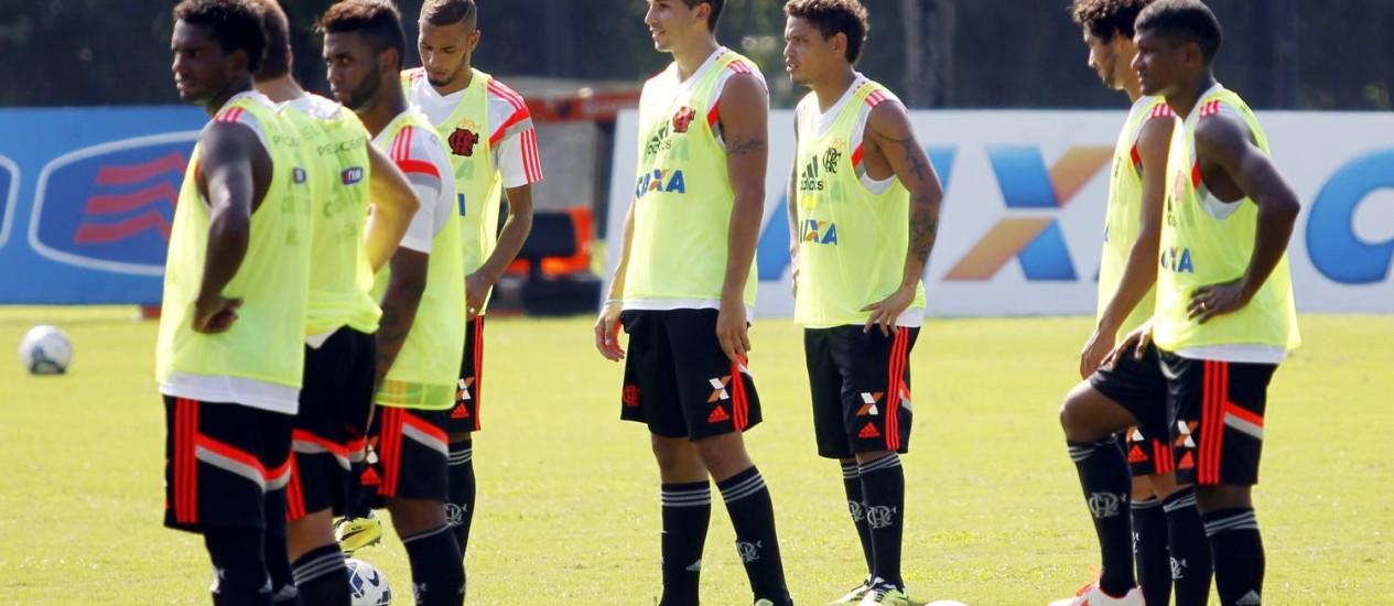 O Flamengo jogará em Macaé e em Uberlândia Foto: Gustavo Miranda / O Globo