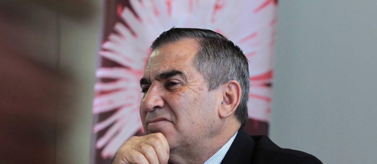 Gilberto Carvalho, ministro-chefe da Secretaria-Geral da Presidência Foto: Givaldo Barbosa/22-8-2013 / Agência O Globo