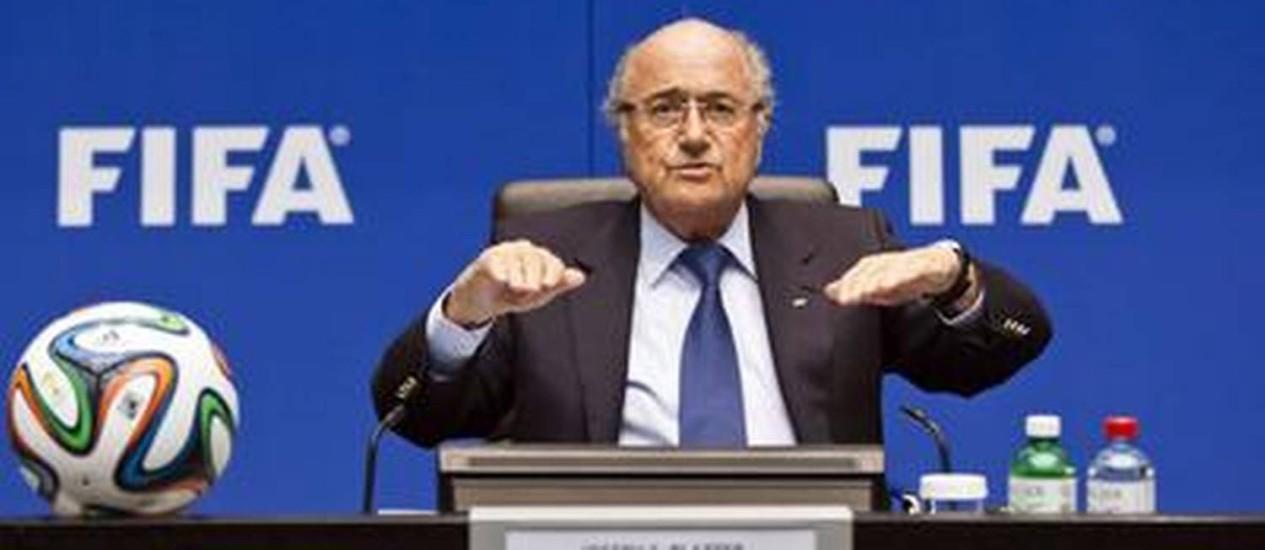 Blatter está na Fifa desde 1978 Foto: AFP / AFP