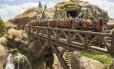 """Inspirada em """"Branca de Neve e os sete anões"""", a Seven Dwarfs Mine Train é a nova montanha-russa da Walt Disney World"""