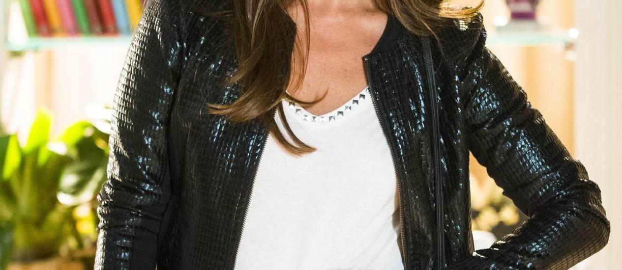 Clara ( Giovanna Antonelli ) Foto: TV Globo/Alex Carvalho