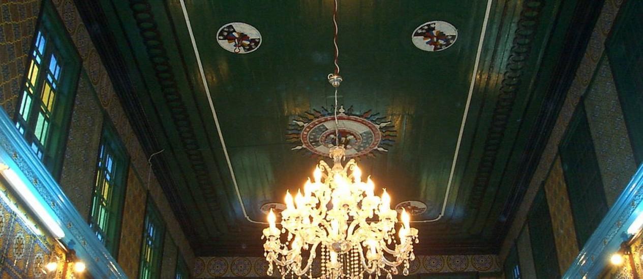 A Sinagoga de Grhiba, em Djerba: turismo vira ponto de discórdia na Tunísia Foto: Reprodução da Internet