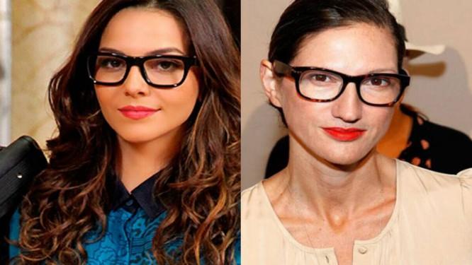 """A executiva Jenna Lyons inspirou Tainá Müller a compor a Marina de """"Em família"""" Foto: Reproduções"""