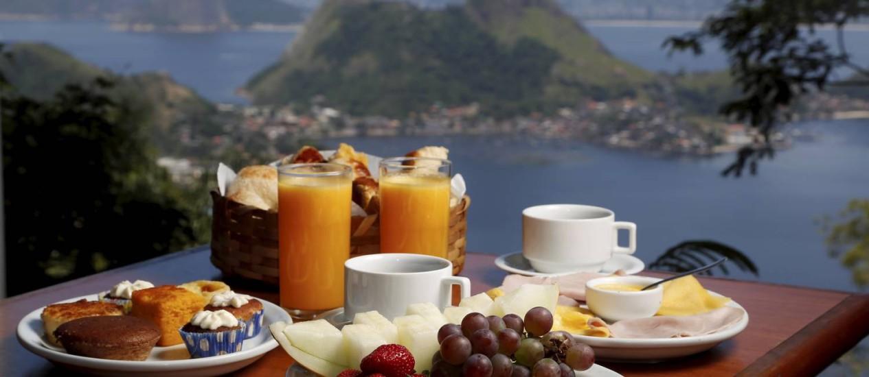 Panorama. No Parque da Cidade, o Sierra e Mar oferece um super café da manhã que une um pacote de delícias com uma vista cinematográfica. Foto: Hudson Pontes / Hudson Pontes