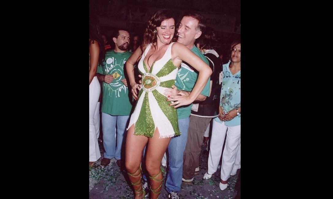 Eike casa-se com a modelo Luma de Oliveira em 1991. No mesmo ano nasce o primeiro filho do casal, Thor. Em 1995, nasce Olin. Foto: Divulgação