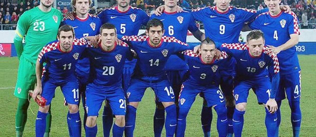 Seleção da Croácia será adversária do Brasil na estreia da Copa do Mundo 2014 Foto: Croácia / Divulgação
