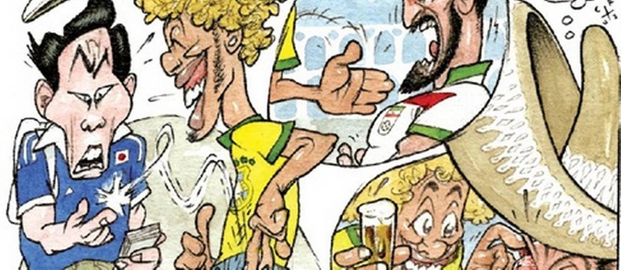 Copa do Mundo começa no dia 12 de junho Foto: Agência O Globo