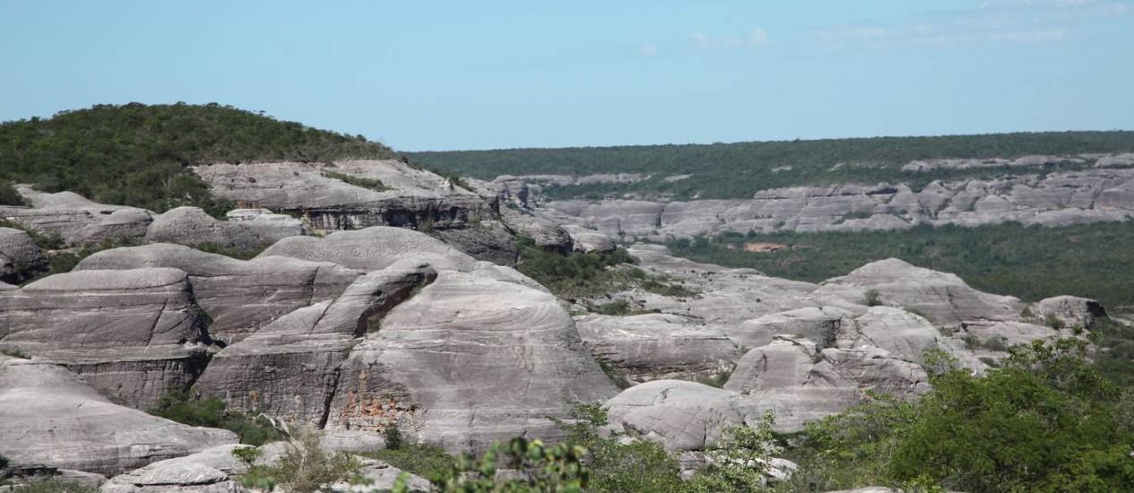Parque da Serra das Confusões tem 823.843 hectares e recebeu sua primeira guarita há poucos meses Foto: Efrém Ribeiro