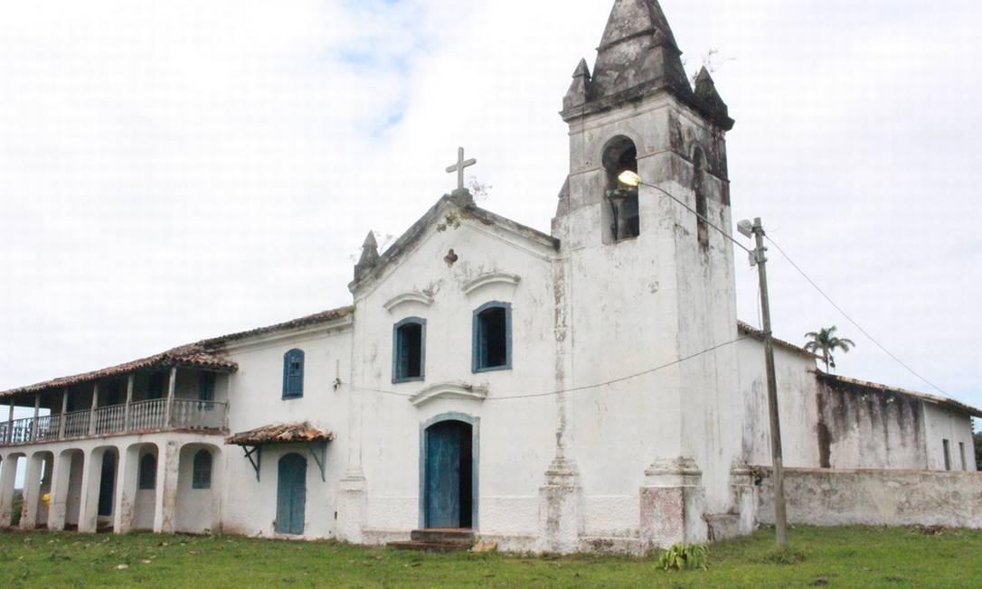 A capela da fazenda, um dos bens que devem ser tombados - Foto: Ernesto Galioto / Divulgação