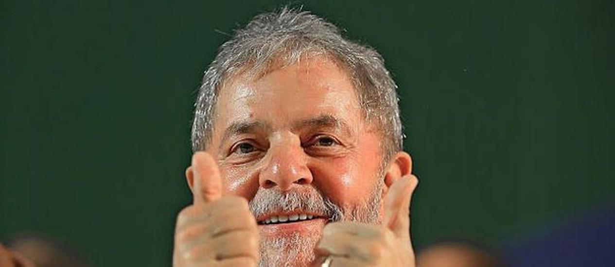 O ex-presidente Luiz Inácio Lula da Silva manda recado para equipe econômica de Dilma Foto: Instituto Lula