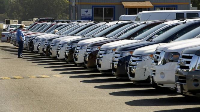 Linha de produção do Scape nos EUA Foto: David Paul Morris/Bloomberg