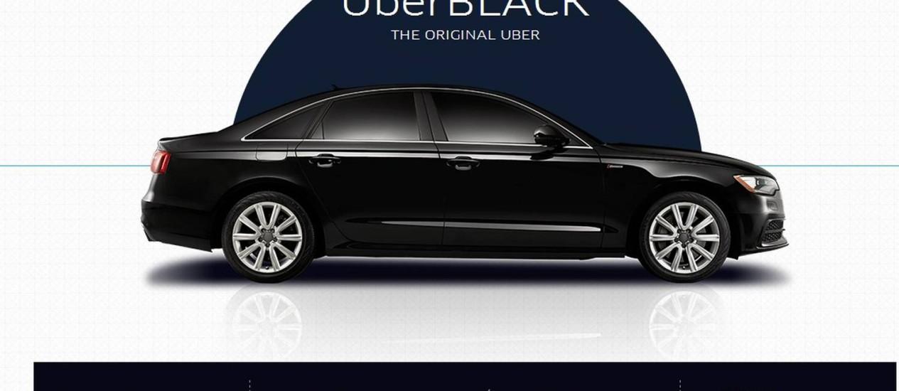 Motoristas que usam o Uber recebem pagamento por transporte, mas não possuem licença como os taxistas Foto: Reprodução