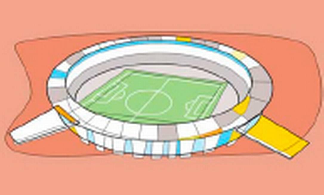 A impossibilidade de grupos sentarem juntos nos estádios uma das prováveis fontes de problemas na avaliação de especialistas Foto: André Mello