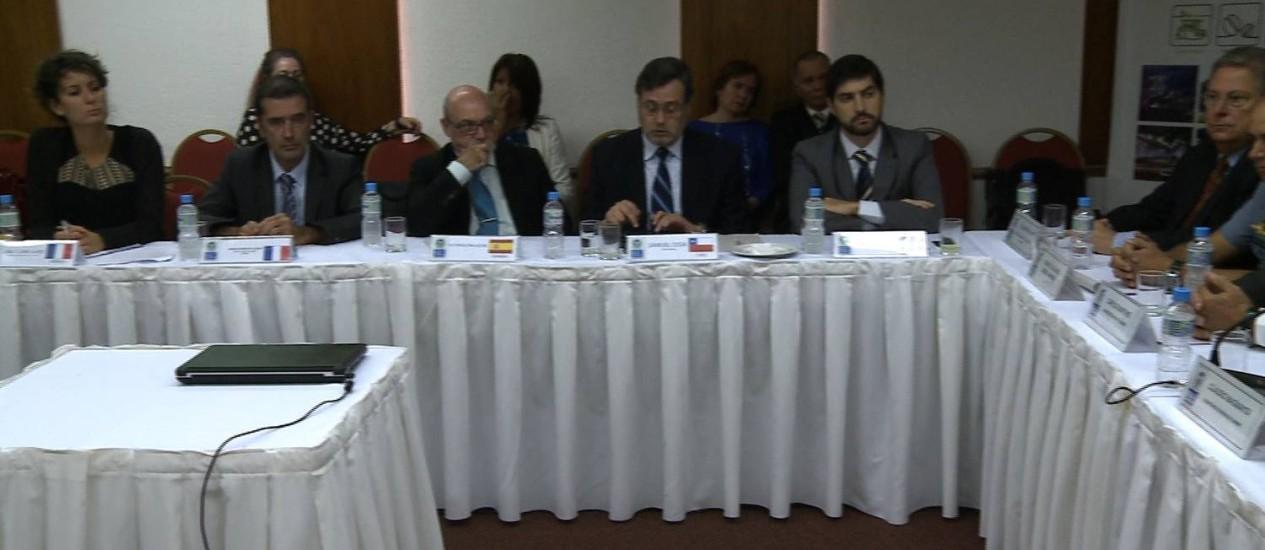 Cônsules de países que participarão da Copa se reúnem com secretário de Turismo / Foto: Divulgação / Governo do Estado do Rio