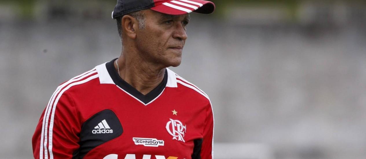 A demissão de Jayme de Almeida deixou à mostra as disputas internas no Flamengo Foto: Marcos Tristão / O Globo