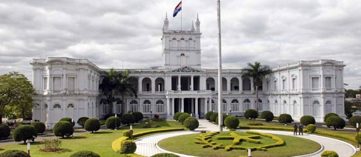 Palácio de los Lopez, infestado de cupins Foto: Reprodução