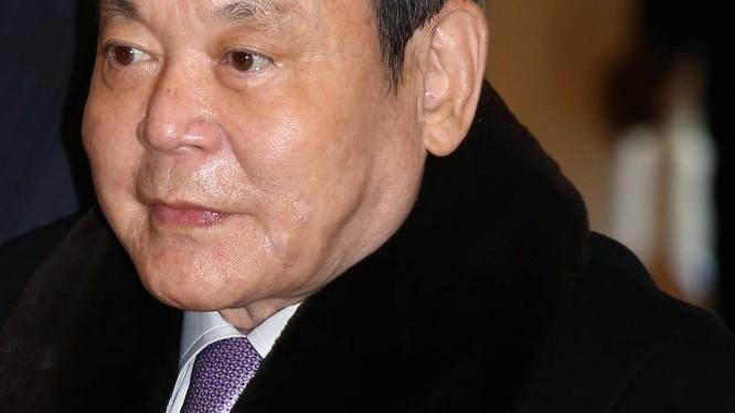 Lee Kun Hee, presidente da Samsung, está internado em Seoul Foto: SeongJoon Cho/Bloomberg