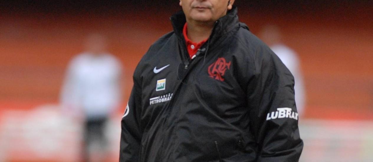 Ney Franco comandou o Flamengo por um ano e dois meses, entre 2006 e 2007 Foto: Nelson Coelho / Nelson Coelho/29-07-2007