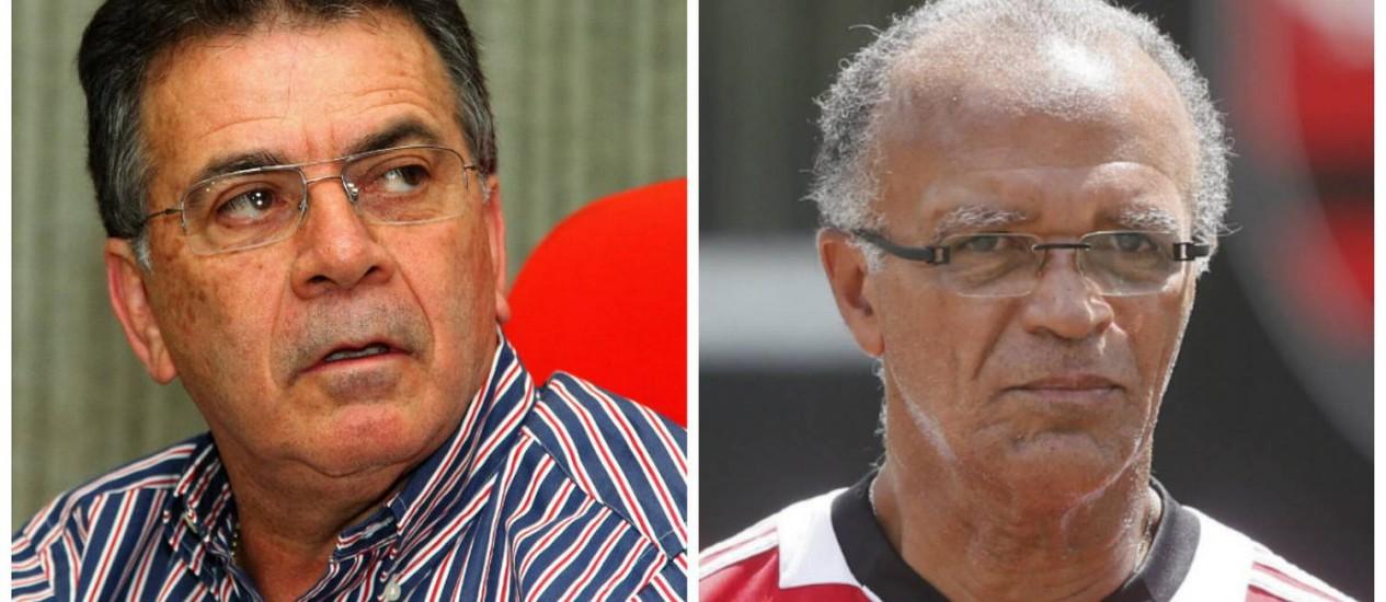 Paulo Pelaipe e Jayme de Almeida foram demitidos nesta segunda Foto: O Globo / Arquivo