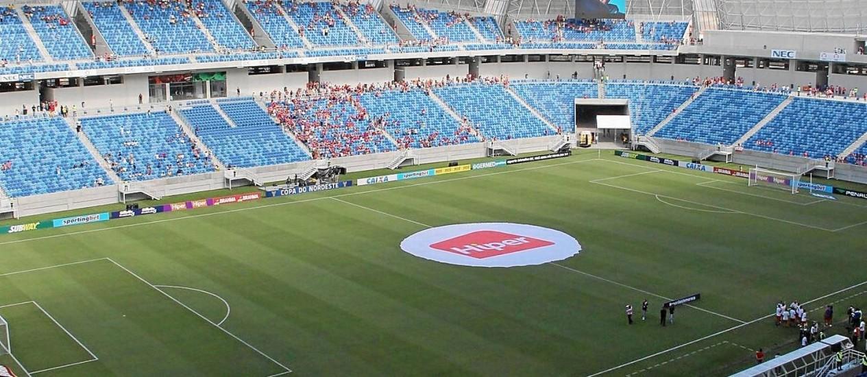 Arena das Dunas: quatro jogos na primeira fase da Copa do Mundo Foto: Foto: Nuno Guimarães/Frame