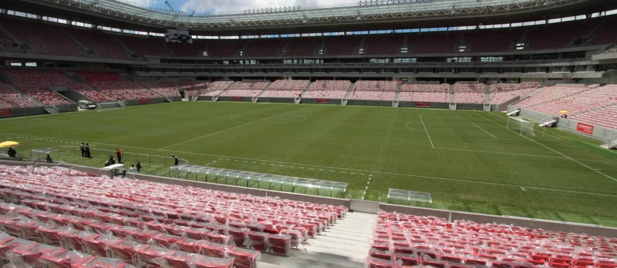 Arena Pernambuco: Seis jogos na Copa do Mundo Foto: Foto: Edmar Melo/JC Imagem