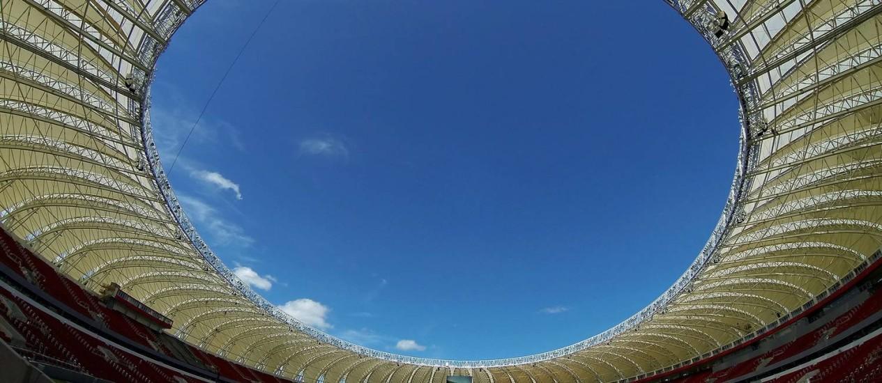 Beira-Rio: Cinco jogos na Copa do Mundo Foto: Foto: Wesley Santos
