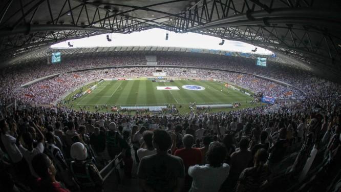 Mineirão: quatro jogos na Copa do Mundo Foto: Terceiro / Agência O Globo