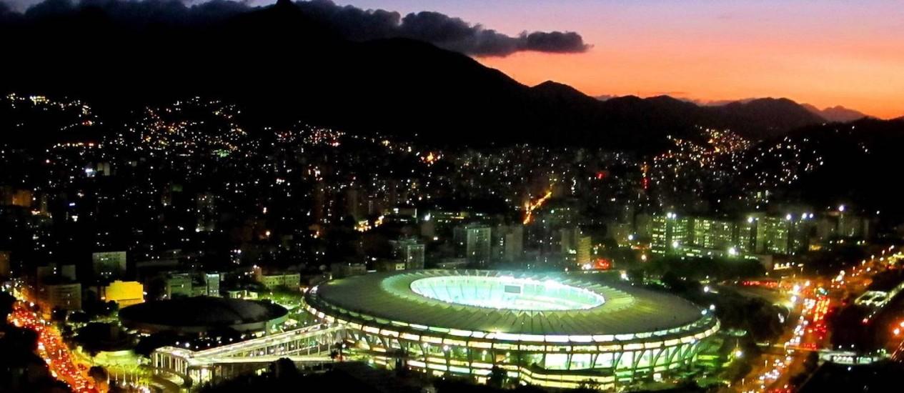 Maracanã: palco da final da Copa Foto: Genílson Araújo / Genilson Araújo