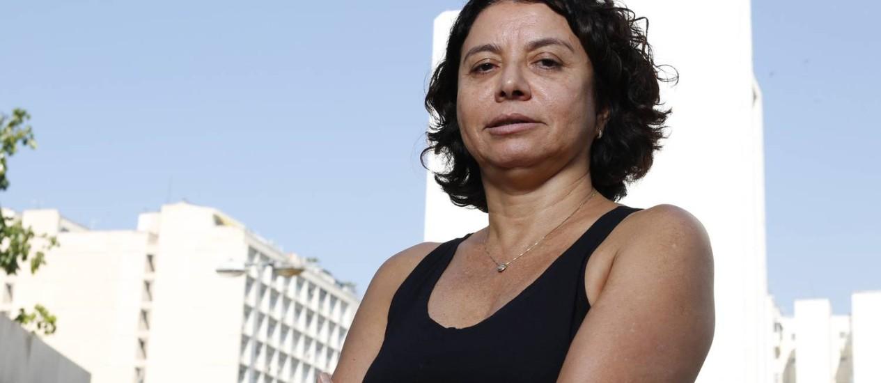 Eliana Souza Silva, diretora da Redes da Maré:'Política pública não é trabalho de policial' Foto: Simone Marinho / Agência O Globo