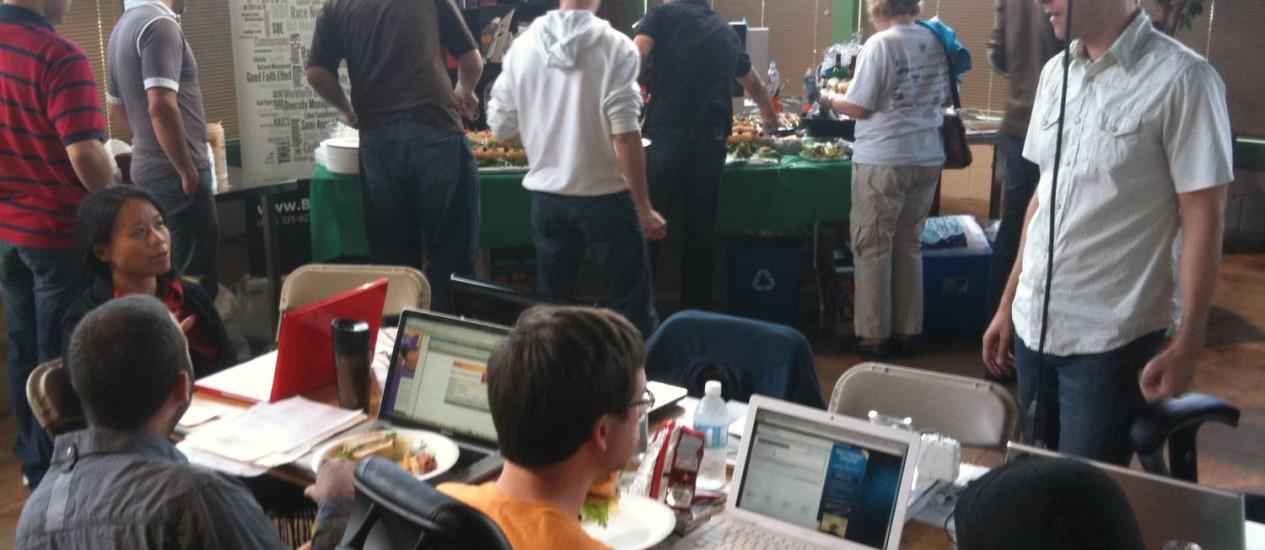Jovens participa de evento de startup em Phoenix, Arizona (EUA) Foto: Divulgação