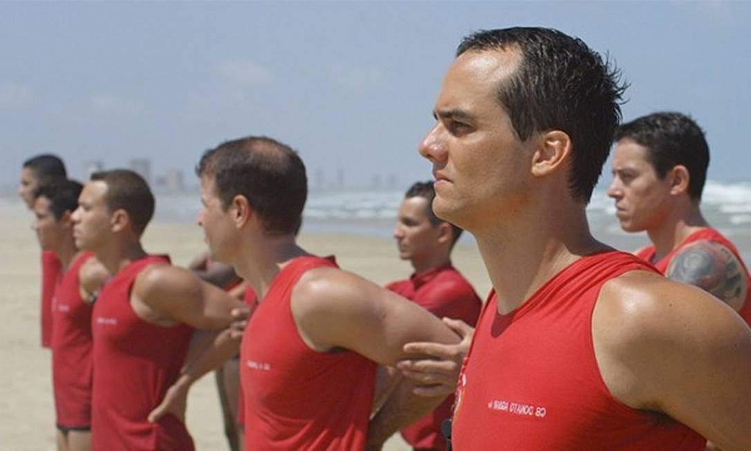 Wagner Moura em cena do filme 'Praia do Futuro' Foto: Divulgação