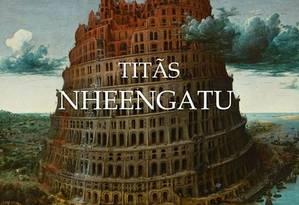 Capa do novo disco dos Titãs Foto: Reprodução