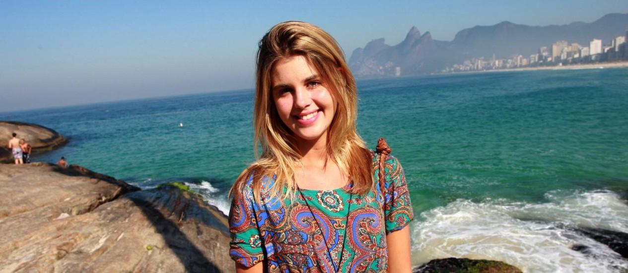 Mariana Schulz foi escolhida a musa de Ipanema Foto: Pedro Teixeira / Agência O Globo