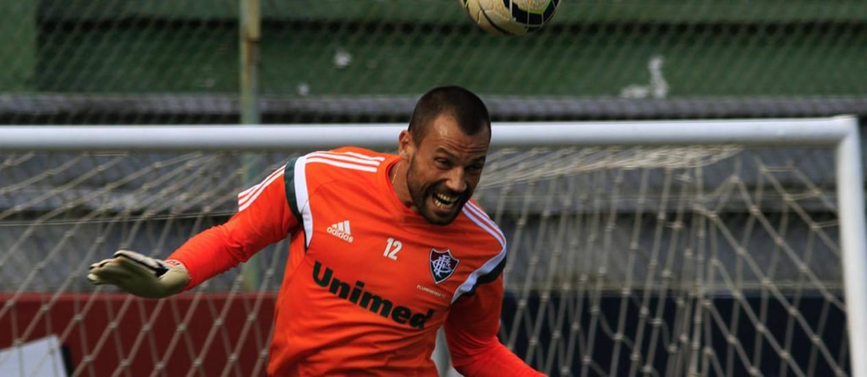 Cavalieri em foto de arquivo Foto: Divulgação / Fluminense