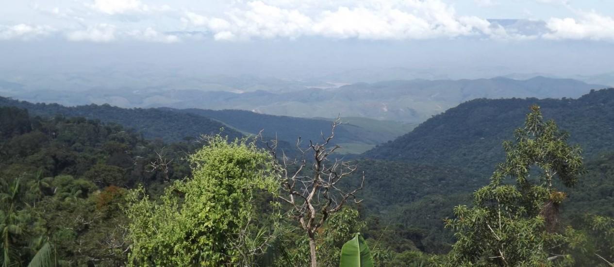 A paisagem a partir do Hotel do Ype Foto: Celina Côrtes/Especial para O Globo