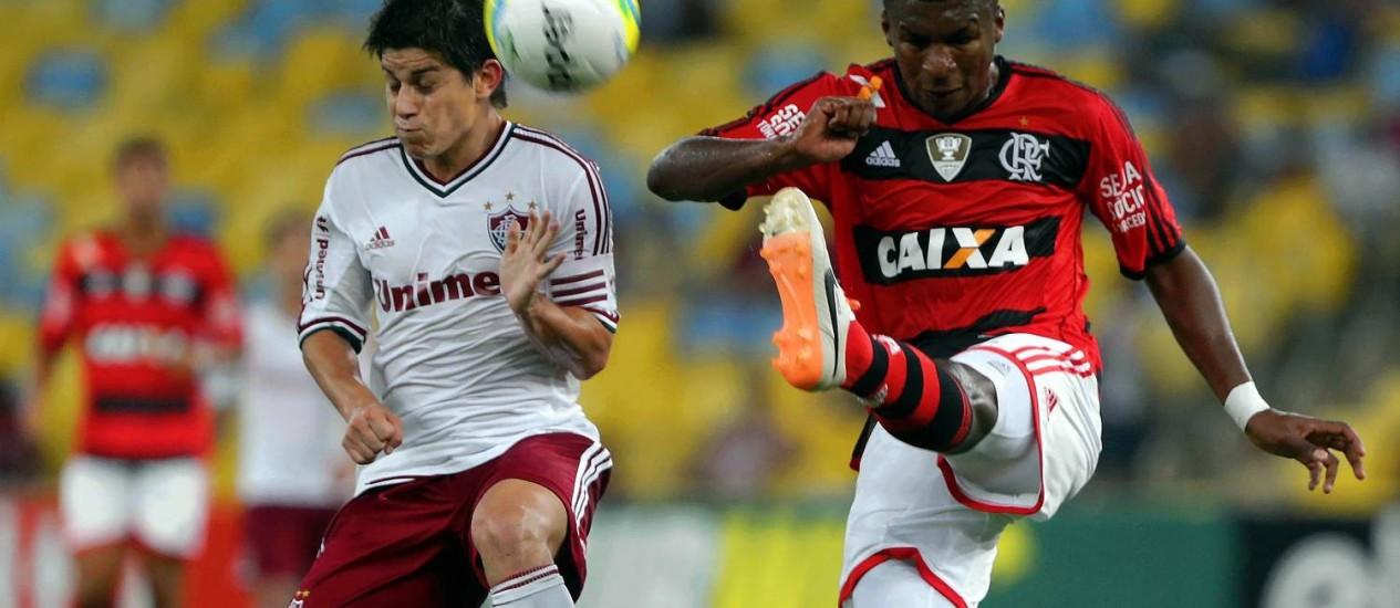 Frickson Erazo, do Flamengo, está na pré-lista equatoriana para a Copa Foto: Freelancer / Agência O Globo