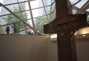 Depois de anos de planejamento e polêmicas, o Museu Memorial 11 de Setembro está previsto para estrear em 21 de maio em Nova York Foto: DAMON WINTER / NYT